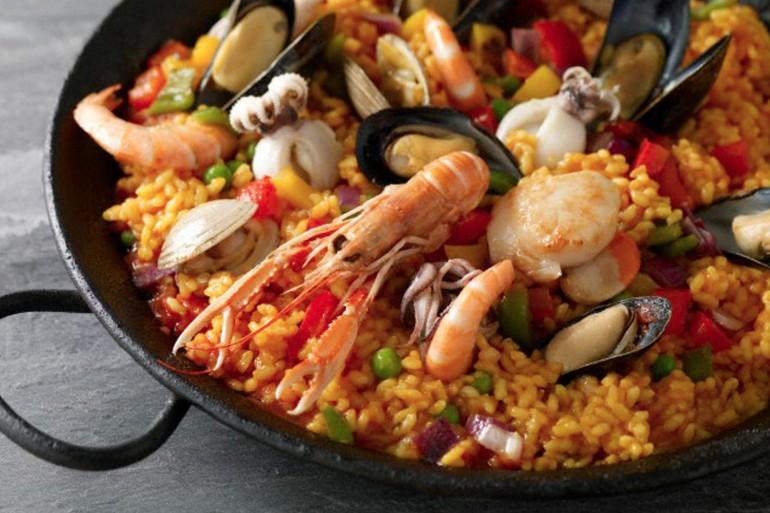 Spaanse-paella
