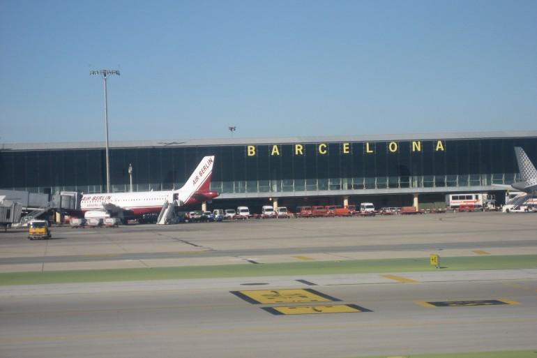 barcelona-vliegveld