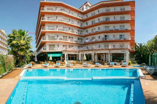 Hotel Acapulco voorkant
