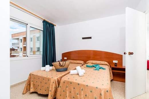 Appartementen Condado slaapkamer