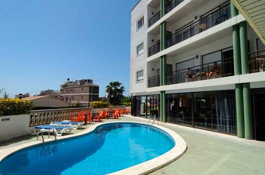 Appartementen Melrose Lloret zwembad