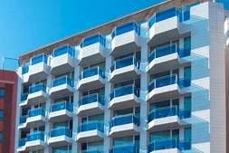appartementen blau