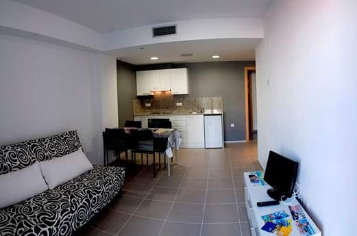 Appartementen Niu D'or woonkamer