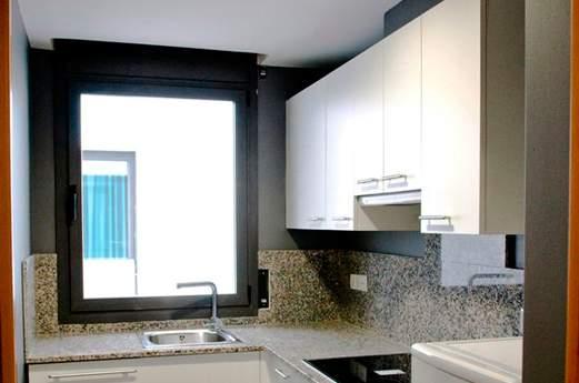 Appartementen Niu D'or keuken