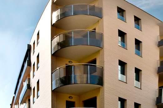 Appartementen Niu D'or voorkant